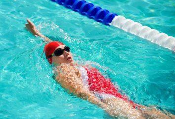 Rückenschwimmen: Ausrüstung und Typen