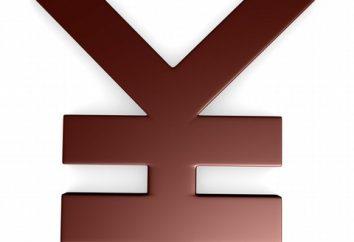 Moeda do Japão como um elemento essencial do sistema de troca de valor economia global