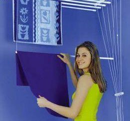 soffitto Dryer per balcone: comodo e pratico