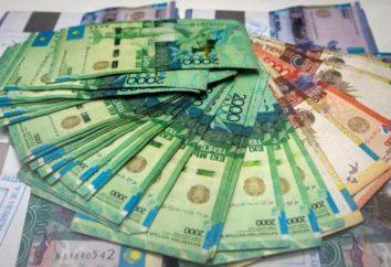 monnaie kazakhe: description et les photos