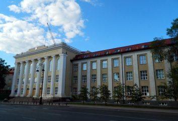 Tyumen Petróleo e Gás da Universidade de endereço, filiais, departamentos, especialidades