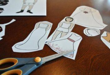 Jak zrobić lalkę papieru: Niektóre pomysły