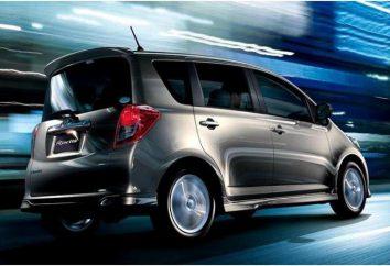 Ractis Toyota: Dane techniczne, opis i wartość
