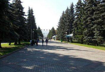 Park Bitter (Krasnojarsk). Historia, opis atrakcji