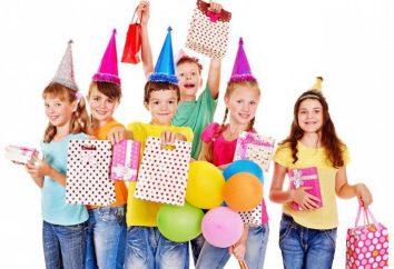 Überraschung für ein Kind zu seinem Geburtstag oder Silvester