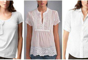 camicette estive fatte di lino e cotone