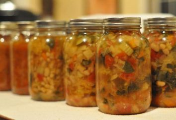 vinaigrette de légumes pour l'hiver. recette