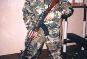 "Hero of Russia Burnaev Sergey Aleksandrovich – SWAT duma (oddział ""Vityaz"")"