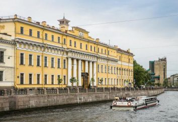 Yusupov Pałac na Moika w Sankt Petersburgu