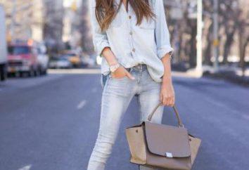 Camisa con los pantalones vaqueros – modernos clásicos urbanos