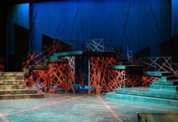 Dekorator w teatrze. Wykonywanie dekoracji na scenie