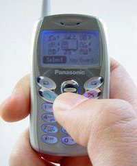 Bewertung von Panasonic GD55 Miniatur-Telefon