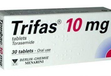 """Il farmaco """"Trifas"""": istruzioni per l'uso, analoghi e recensioni"""