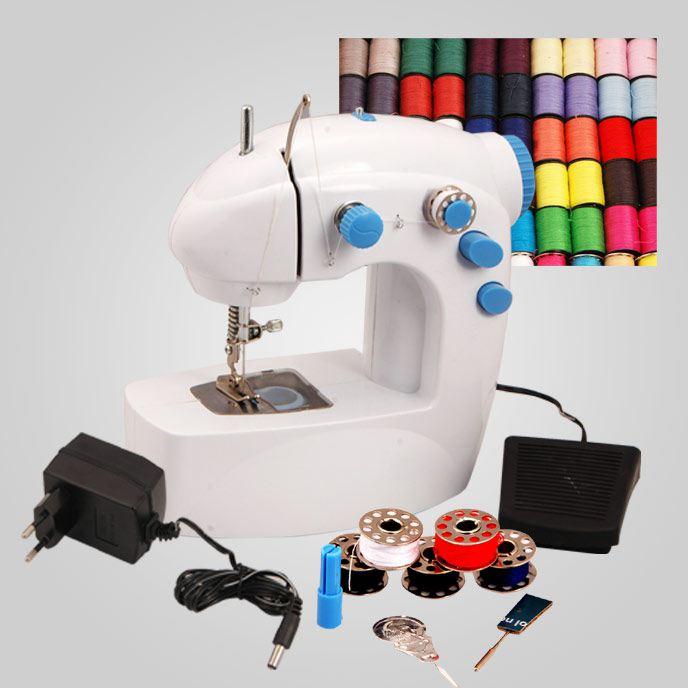 Necesito una mini máquina de coser. Los comentarios, beneficios, equipos