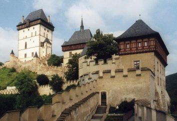 Najpiękniejsze czeskich zamków. Zamek kości w Czechach