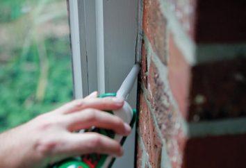 Comment choisir un produit d'étanchéité pour fenêtres: Caractéristiques et commentaires