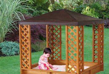 Parque infantil de madeira: com as mãos não apenas possível, mas necessário!