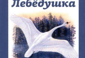 """produto Esenina de """"cisne"""". Como o poeta refere-se ao cisne?"""