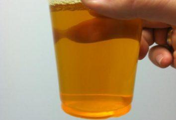 Orangenurin: Ursachen und Konsequenzen
