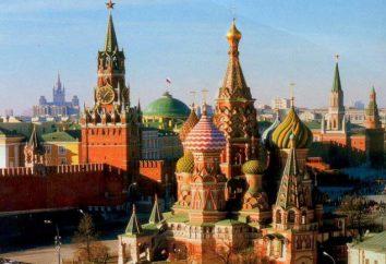 Der schönste Ort in Moskau. Gehen Sie um Moskau