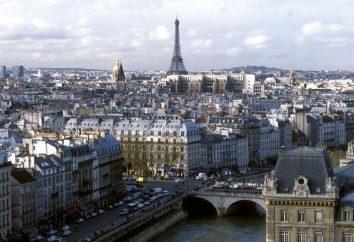 Ludność Paryża. Obszar Paryża