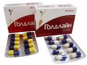 """Leki do odchudzania """"goldline"""": opinie lekarzy, skład, właściwości i przeciwwskazań"""