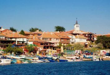 Características e atrações. Nessebar (Bulgária).