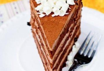 """Cake """"Prague"""" selon GOST: une recette avec toutes les nuances"""
