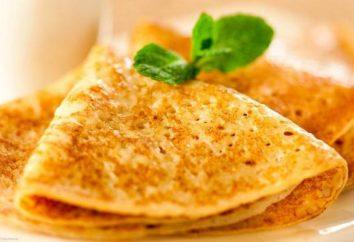 frittelle sottili con la soda nel latte – le migliori ricette