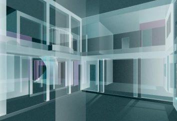 spazio tridimensionale del mondo materiale