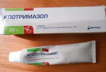"""""""Klotrimasol"""" (maść), co pomaga, skład i opinie"""