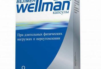 "Vitamines ""Velma"": description, l'examen des demandes. Vitamines « Velma » pour les hommes"