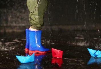 Jak wybrać buty gumowe dla dzieci?