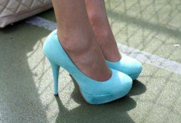 sapatos azuis: uma combinação de roupas, recomendações profissionais e comentários