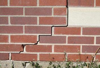Co i jak bliska pęknięcia w ścianie z cegły w domu własnymi rękami? Krok po kroku instrukcje i zalecenia