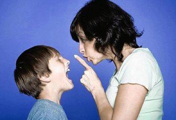 Como criar uma criança sem gritar e punição. segredos para treinamento
