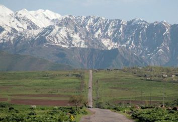 Activités Tadjikistan. Les uniques monuments naturels, architecturaux et historiques