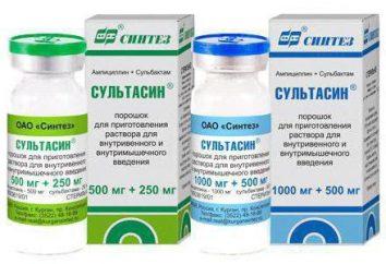 """Il farmaco """"Sultasin"""": istruzioni per l'uso"""
