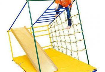 """""""Early Start"""" – complexo desportivo para crianças desde o nascimento até shkoly.Komplektatsiya, comentários acessórios adicionais"""