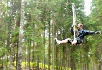 Norvège Parc Nut: adresse, pistes, commentaires. « Walnut Park norvégien » – le plus grand parc de corde en Russie
