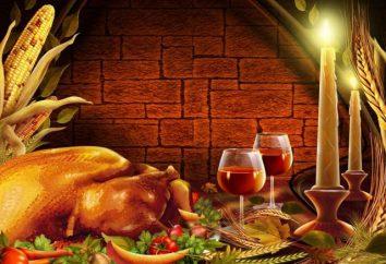 """Dia de Ação de Graças nos Estados Unidos ou """"frutífera"""" obrigado americanos"""