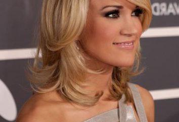Cascade Haarschnitt bei mittlerem Haare – eine universelle Frisur
