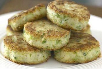 Crêpes aux oignons verts. recettes simples
