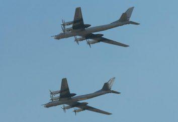 """Bombowiec strategiczny samolot Tu-95MS """"Miś"""""""