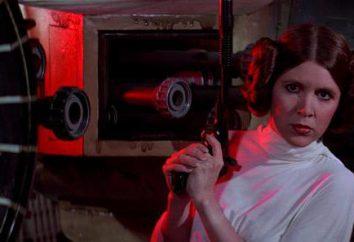 Księżniczka Leia – aktorka Carrie Fisher