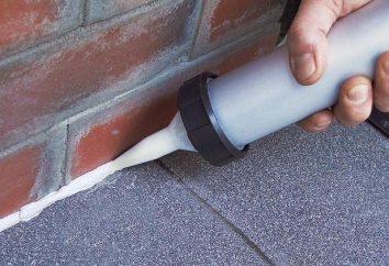 Dichtstoff für Dach: Typen, Eigenschaften, Gebrauchsanweisungen
