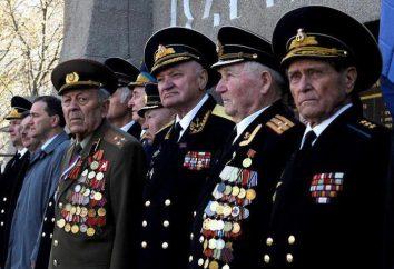 Veteranos do serviço militar: privilégios e direitos