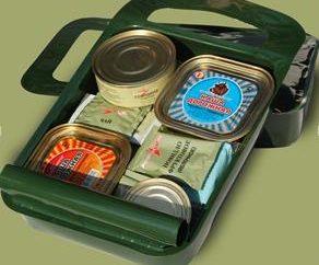 Pakiety lunchowe. Pakiety lunchowe armii rosyjskiej. US suche racje