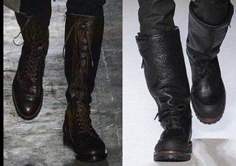Wysokie buty skórzane dla mężczyzn – trend sezonu