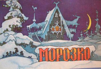 """Resumo do conto de fadas """"Jack Frost"""" Afanasyev"""